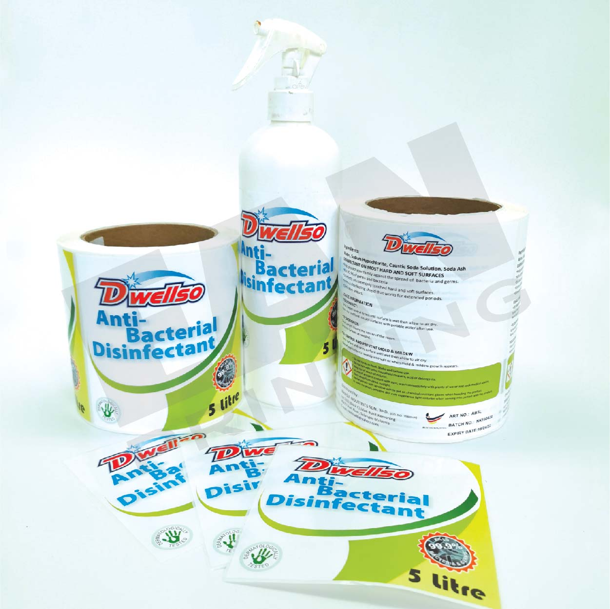 Toiletries Stickers & Labels
