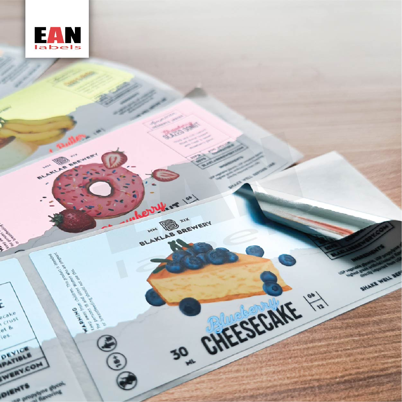 Vape Sticker & Label